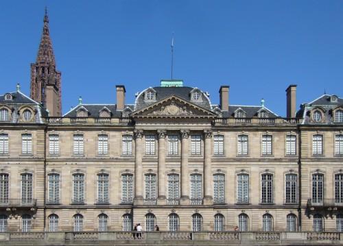 strasbourg, palais, episcopal, rohan, cardinal, eveque